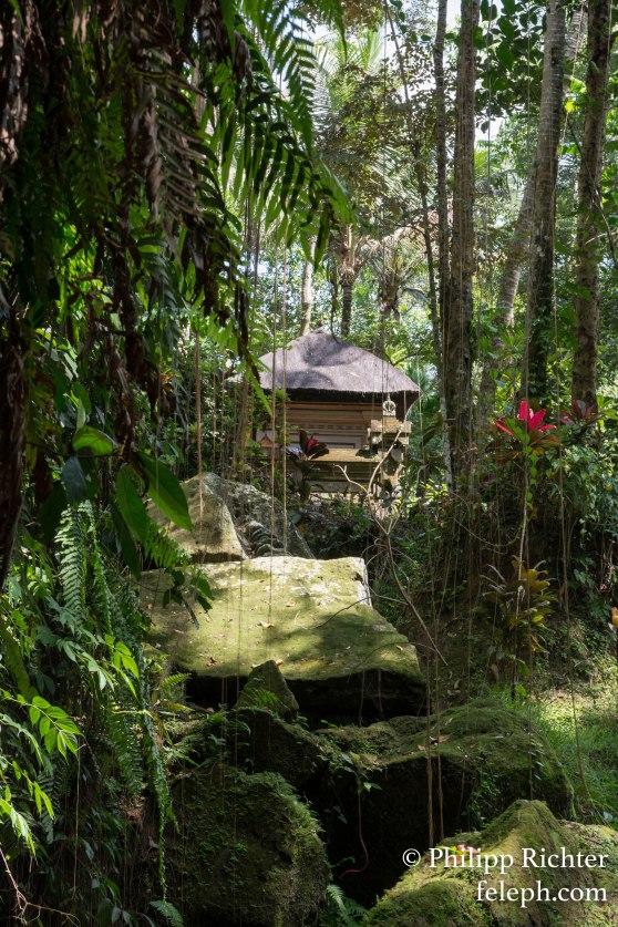 kleiner Tempel Schrein, Bali