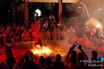 Tanzaufführung in Ubud, Bali